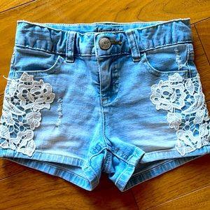 Girls Justice BoHo Shorts
